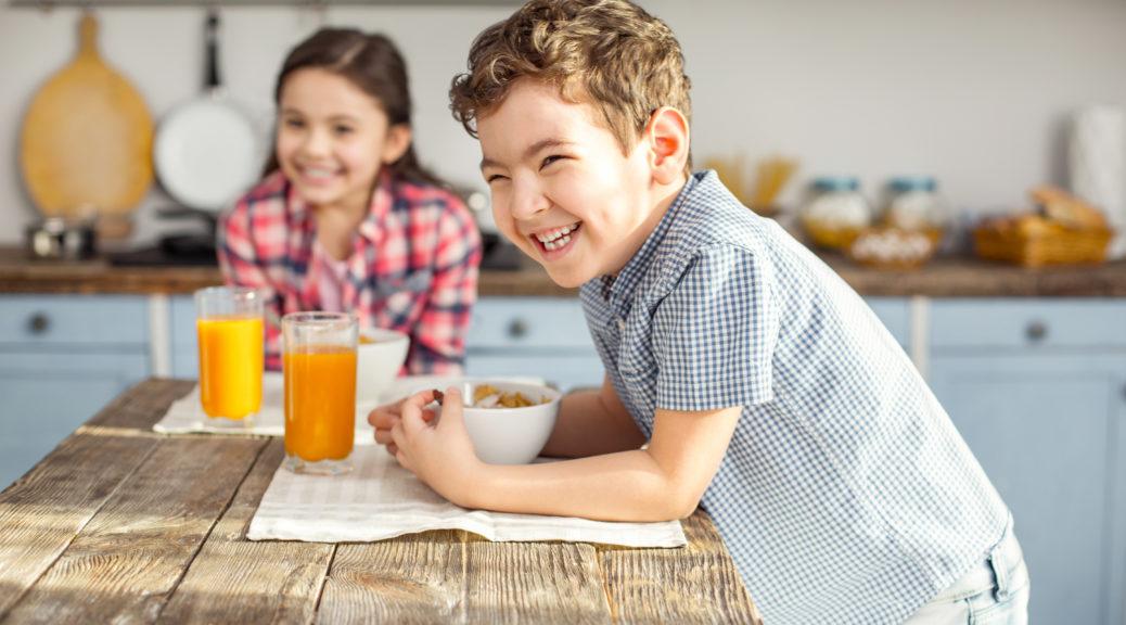 bambini e colazione