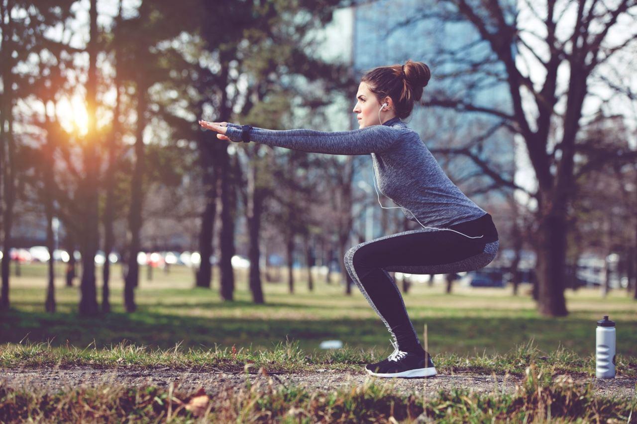 Esercizi all'aria aperta per mantenersi in forma